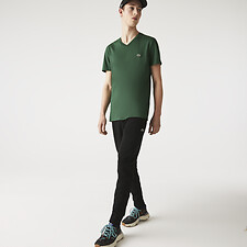 Picture of MEN'S BASIC V NECK PIMA TSHIRT