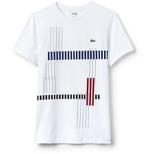 Picture of MEN'S ABSTRACT NET TEE