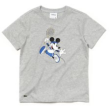 Image of Lacoste SILVER CHINE KIDS' DISNEY TEE