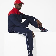 Image of Lacoste  MEN'S DIAMOND TECHNICAL PANEL TRACKSUIT