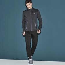 Image of Lacoste BLACK TRACKSUIT PANTS