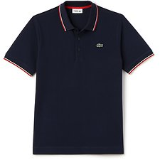 Picture of WAFFLE POLO WITH TIPPING